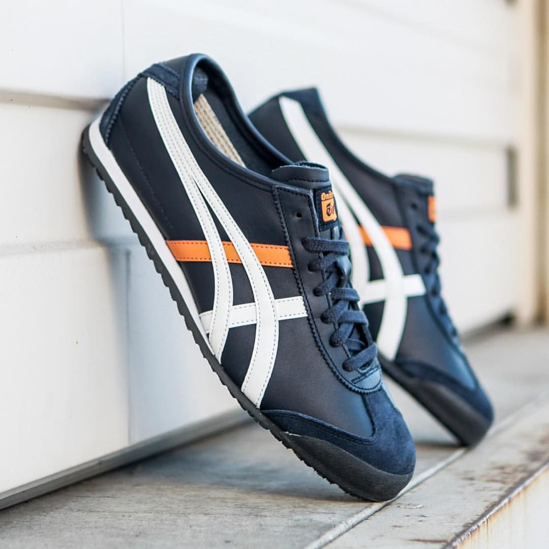 buy online 627a8 480e2 Onitsuka Tiger Mexico 66: navy/indian ink/white | Guddu ...