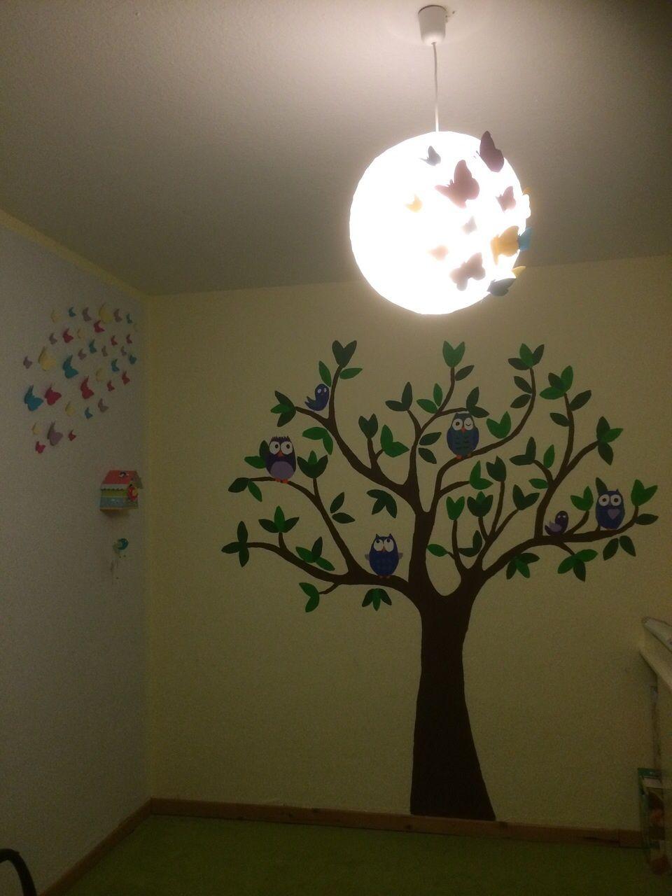 Bezaubernd Bilder Baum Malen Kinderzimmer Ideen Wohndesign. Baum An Wand  Malen Vorlagen