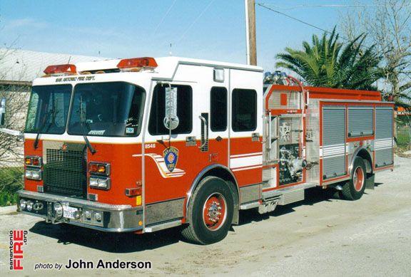 San Antonio Engine 36 Ferrara Replaced With A New