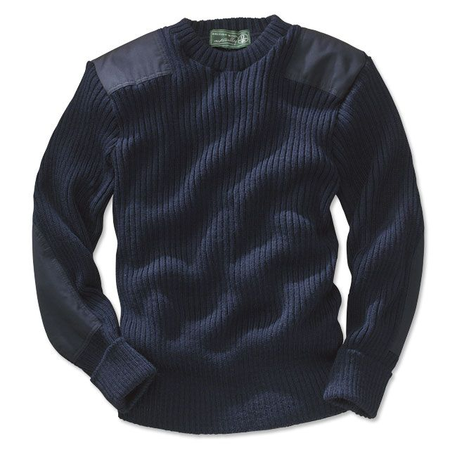 0ada8881c52 Orvis Military Style Wool Sweater - NATO Royal Navy Sweater -- Orvis ...