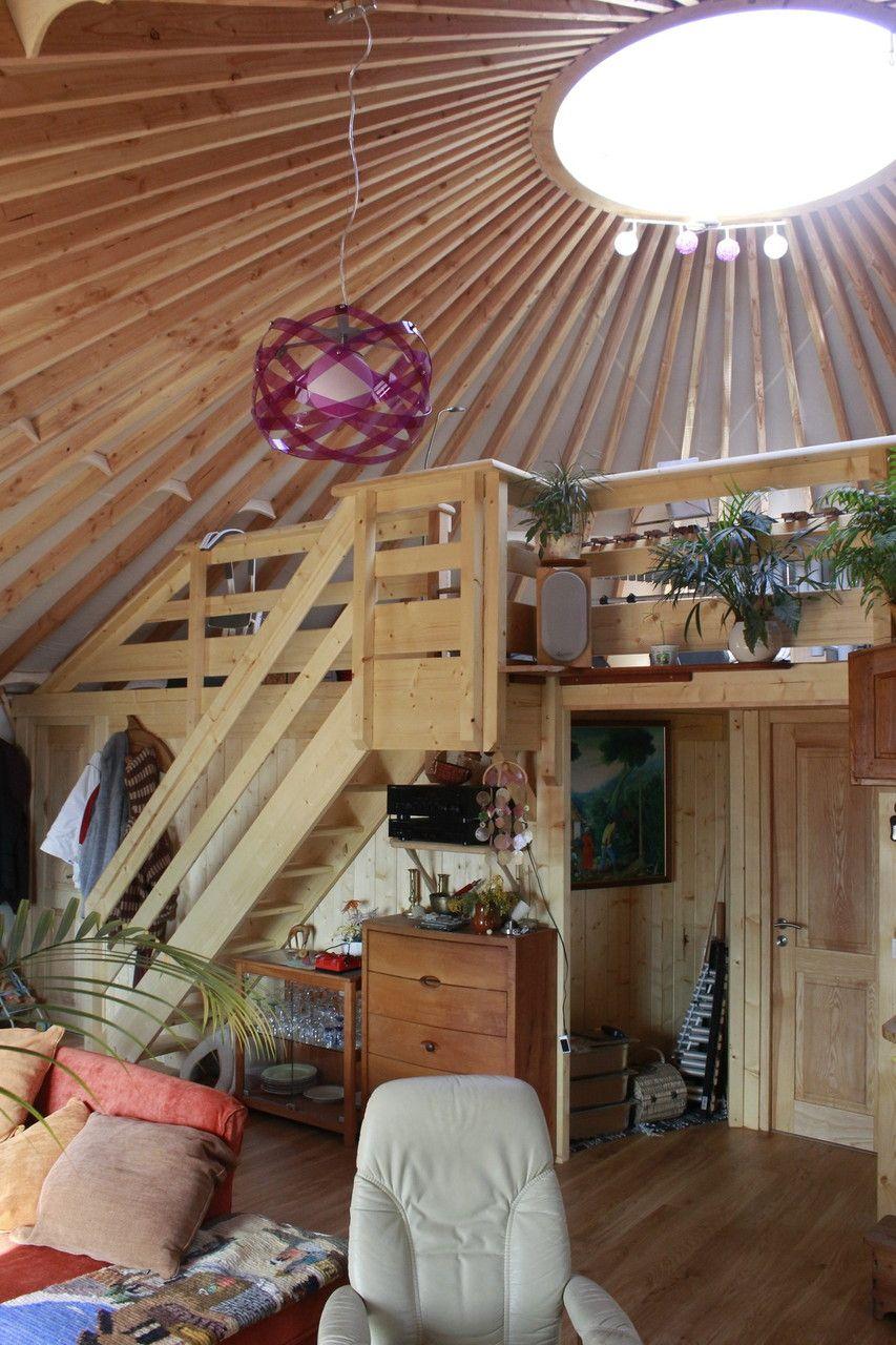 Yourte Alpine Benoit Guillet Yurt Living Building A Yurt Yurt Home