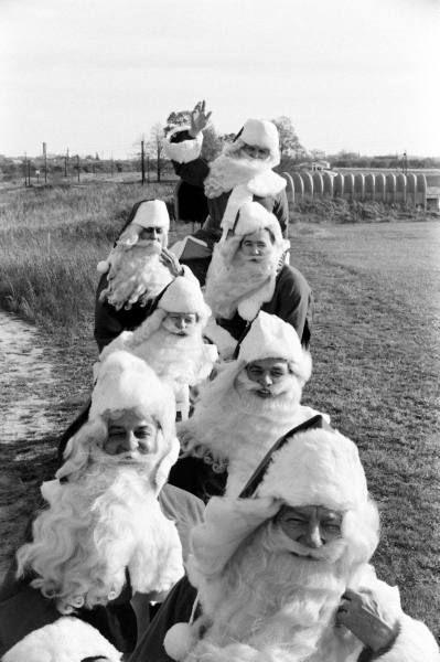 Santa Claus School 1961, Alfred Eisenstadt