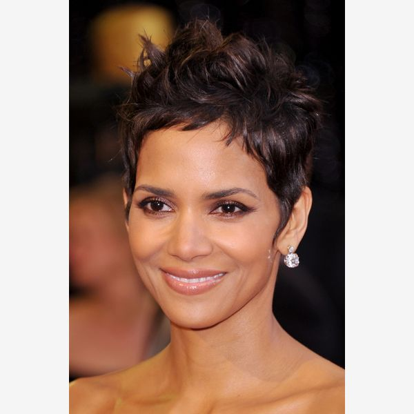 Halle Berry can't get beyond this classic pixie that is incredibly complimentary on her!!!