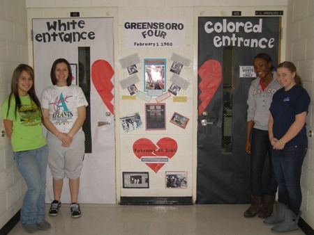 Black History Classroom Decorations : Black history month door decorating contest bring home how far