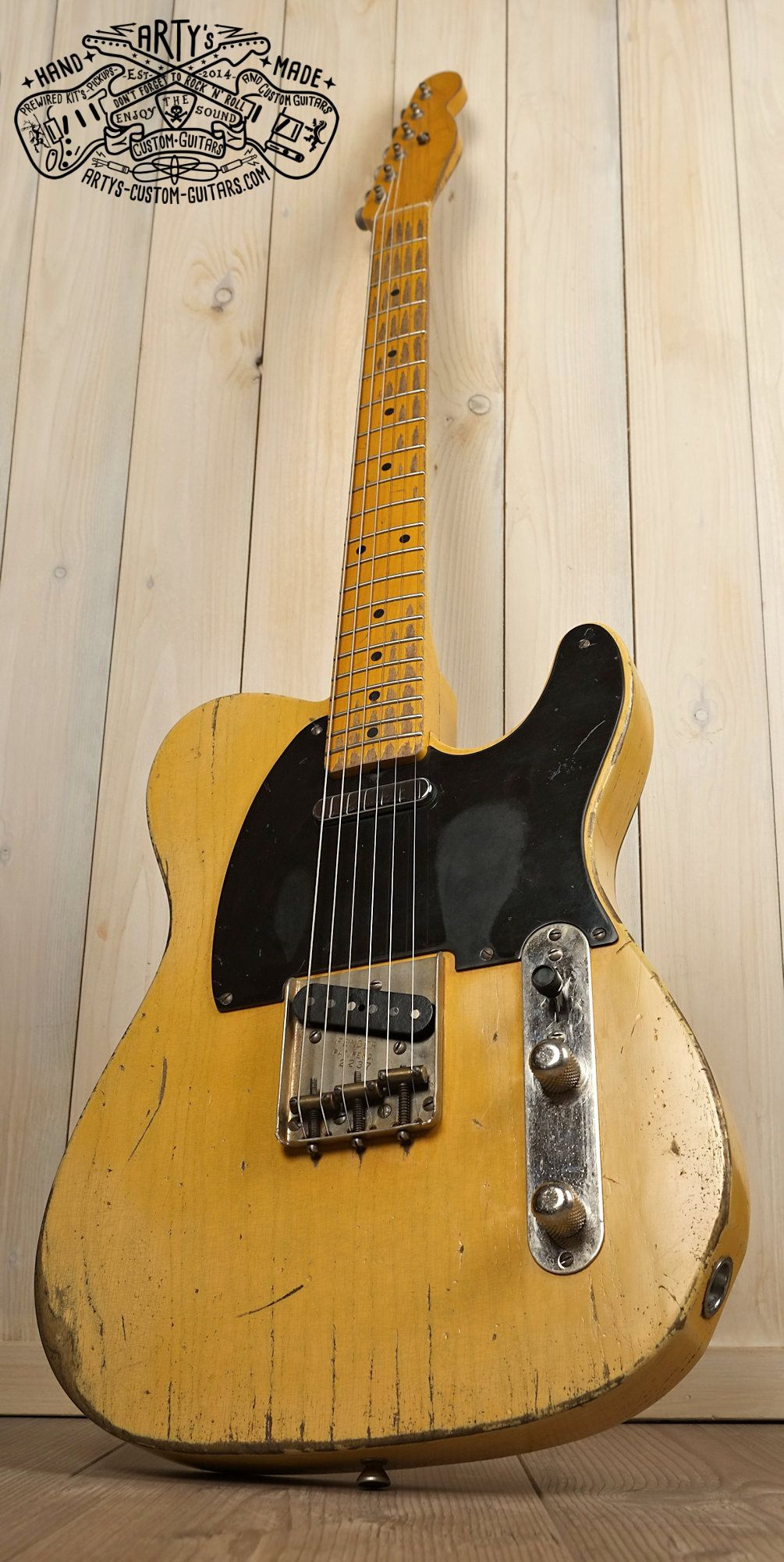 Broadcaster Butterscotch Blonde Telecaster Heavy Relic Tele Maple Best Wiring Harness For Neck Swamp Ash Body Bakelite Pickguard Aged Nitro