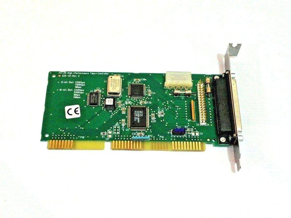 026-121 Rev  C Colorado FC-20 High Performance Tape Controller ISA