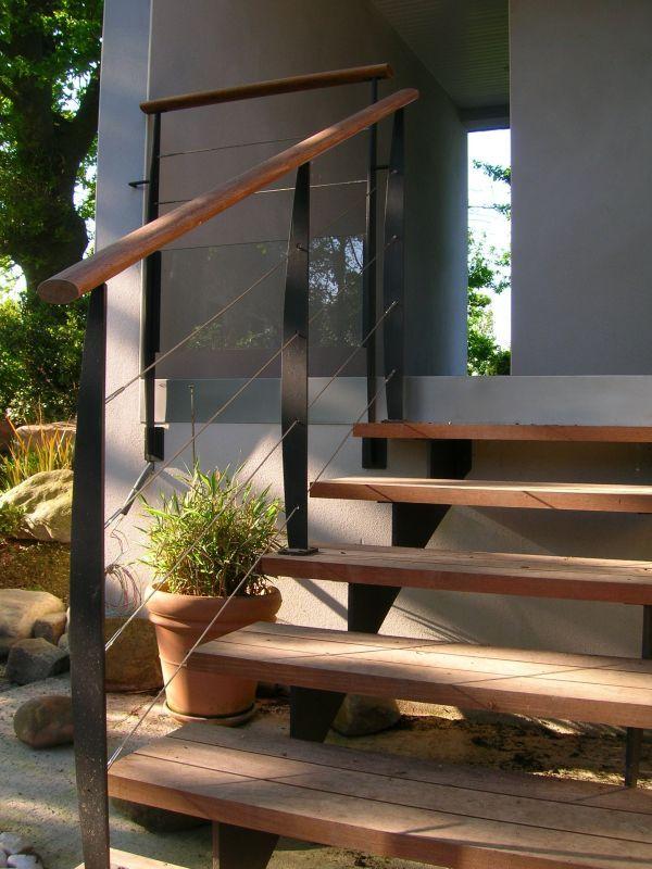 Cliquez pour fermer, cliquez et déplacez Utilisez les flèches de - terrasse sur pilotis metal
