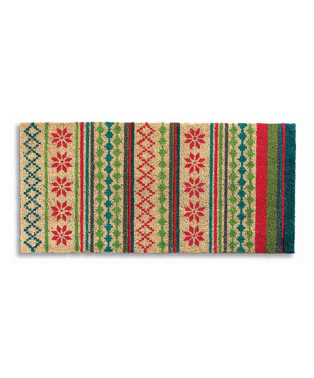 Nordic Winter Doormat Scandinavian Inspiration