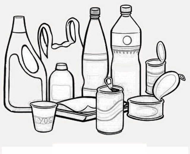 Dibujos para colorear de una botella de leche imagui - Como pintar botellas de plastico ...