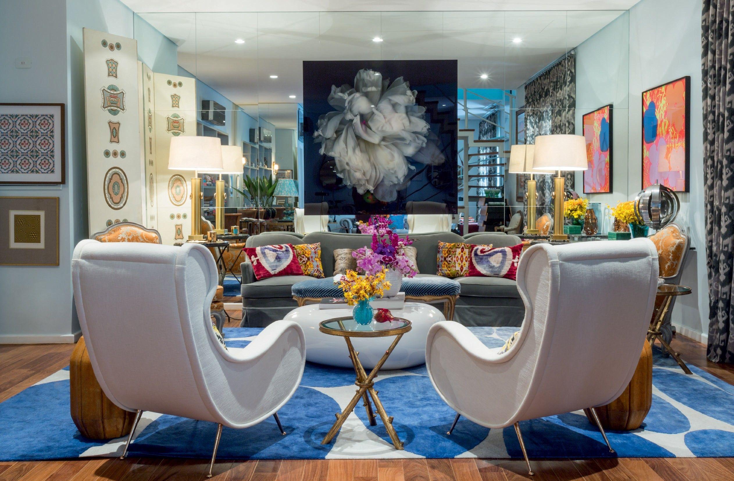 Conheça o apartamento com ares vintage de Marcos Proença | Living ...