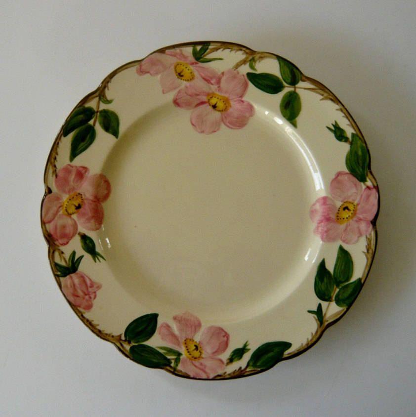 Franciscan Desert Rose Dinner Plate 10 5/8\  by ManyAMoonsVintage on Etsy & Franciscan Desert Rose Dinner Plate 10 5/8\