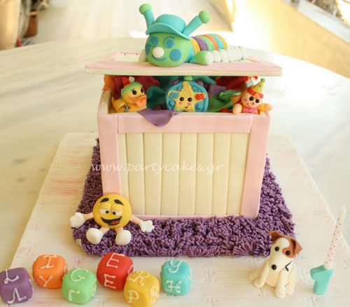 Toy Box Cake by Party Cakes By Samantha on Flickr.