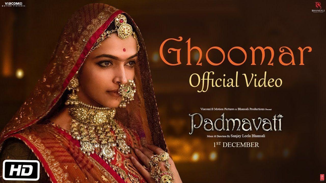 Padmavati Ghoomar Song Deepika Padukone Shahid Kapoor Ranveer Singh Shreya Swaroop Khan Presentin New Hindi Songs Padmavati Movie Deepika Padukone