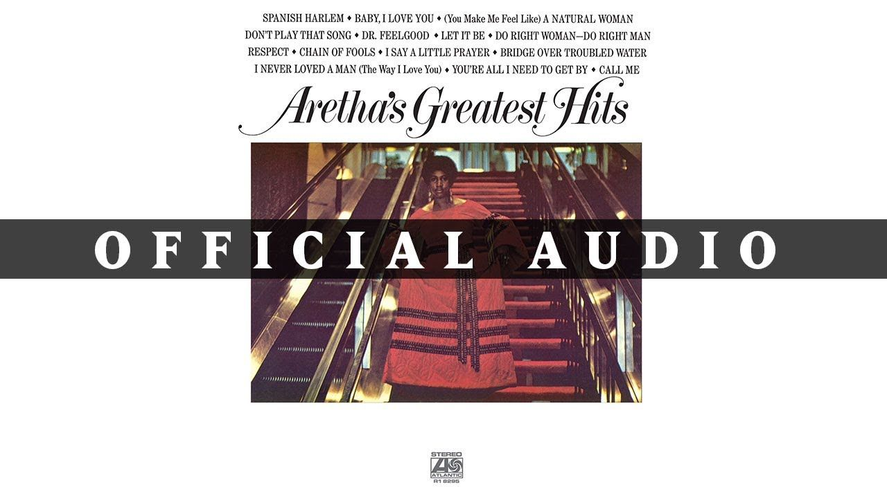 Aretha Franklin Bridge Over Troubled Water Official Audio Con
