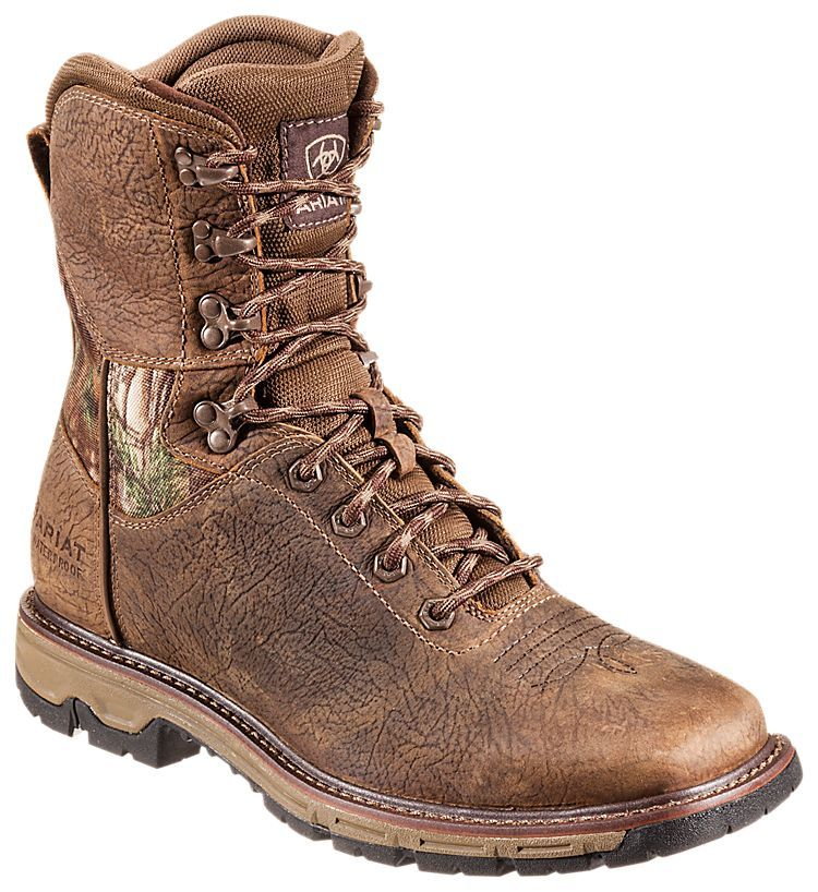 Ariat Conquest H2O Waterproof Hunting Boots for Men | Bass