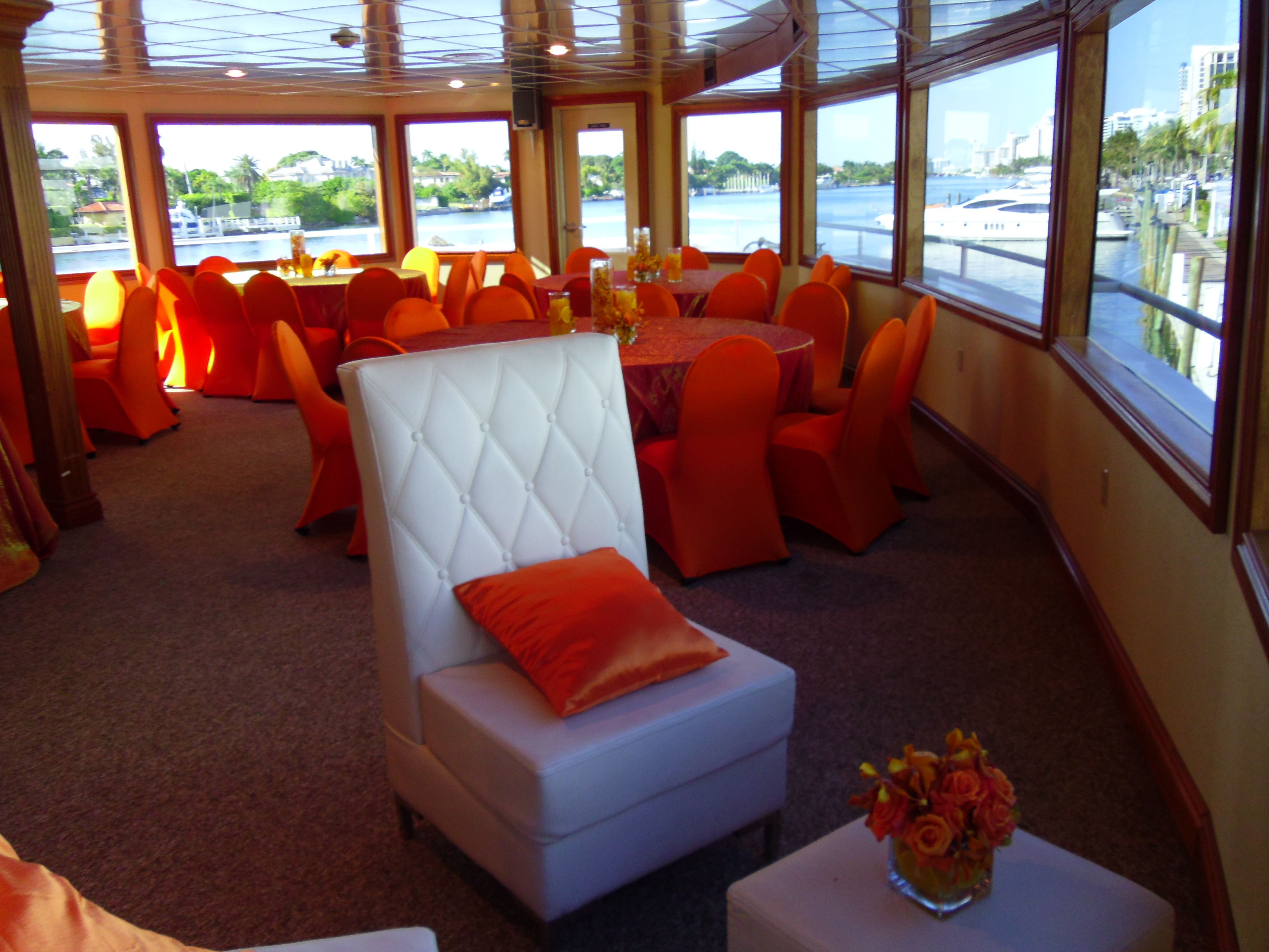 Home yacht party decor miami party