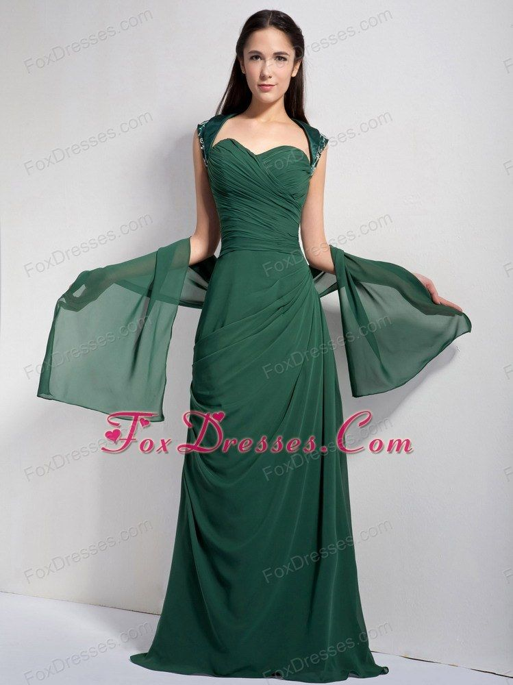 hunter green evening dress | Outfits | Pinterest | Columns, Uks ...