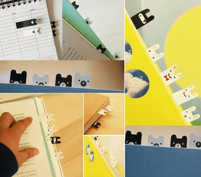 if you love read - Ninja Bunny/Bear Bookmark Stickies | I Love all ...