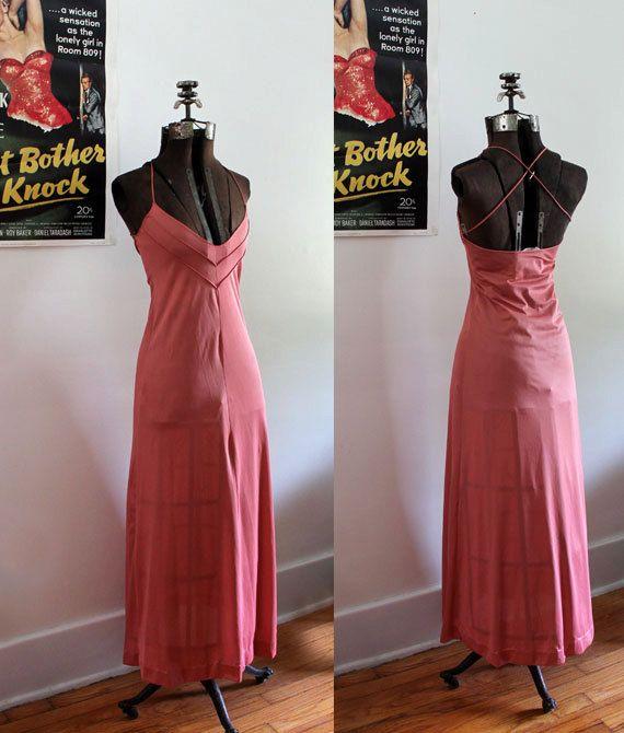 e6ee50403b Nightgown Lingerie Set John Kloss for Cira by SucreSucreVintage ...