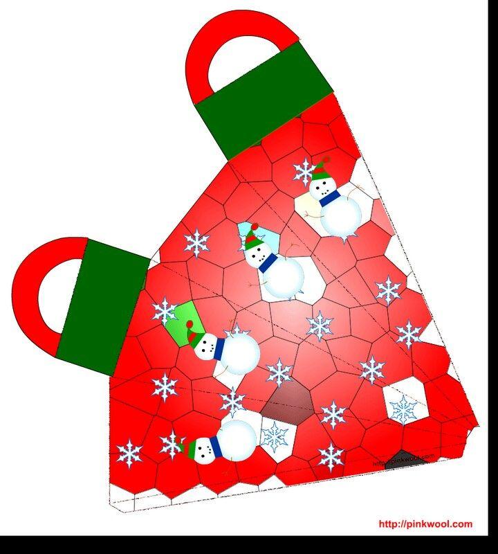 Caja zanahoria navideña