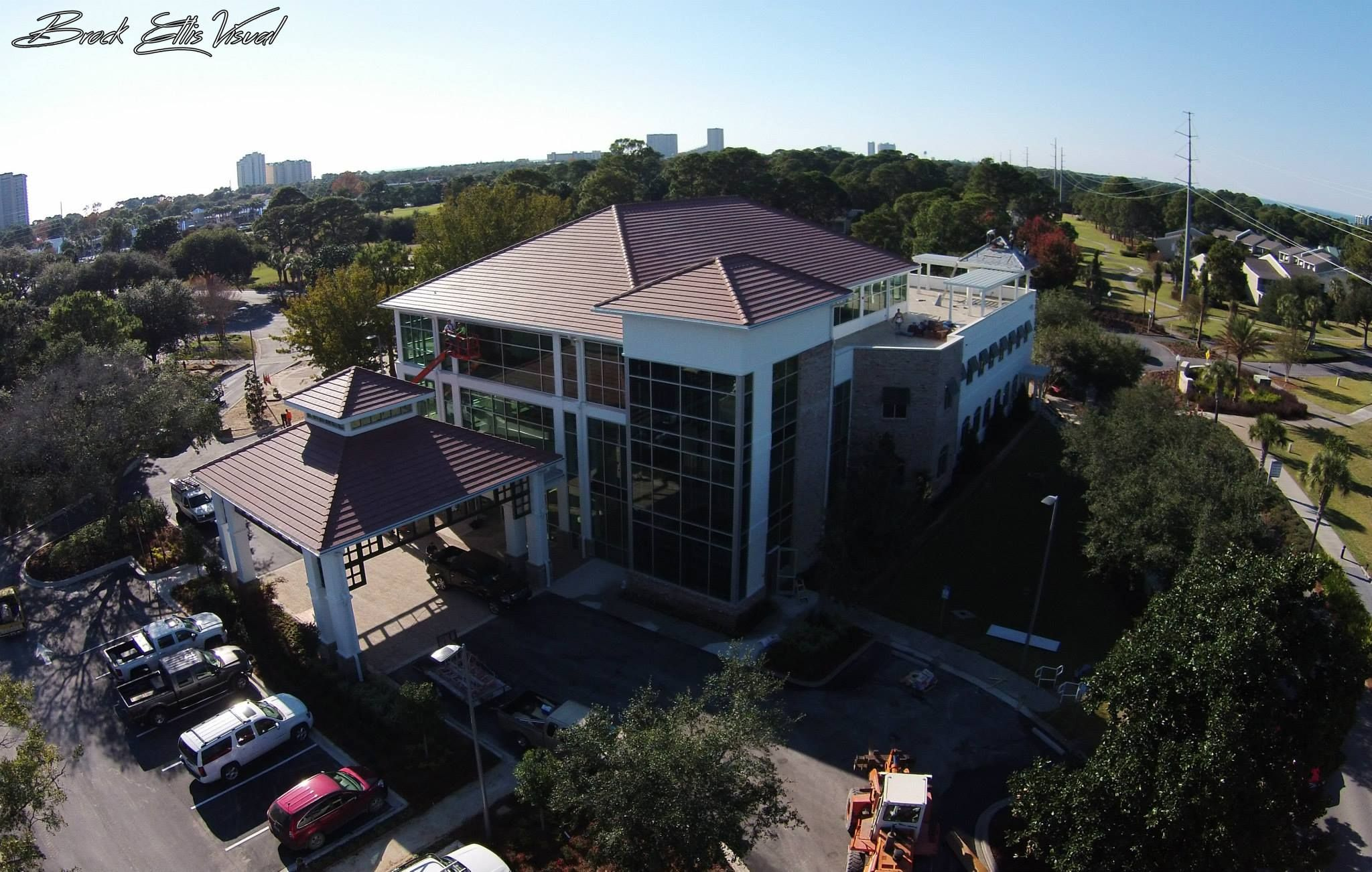 Have you seen the progress of Sandestin's new welcome center? http://on.fb.me/1y8XVlF