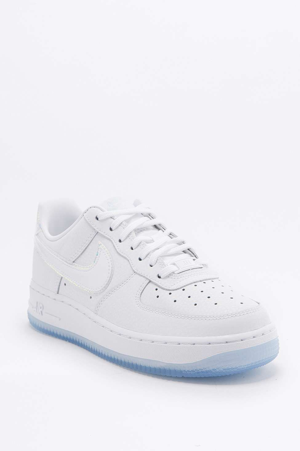 Air Effet Baskets Ultra Nike Force 1 Holographique Blanches yIfvb6gY7m