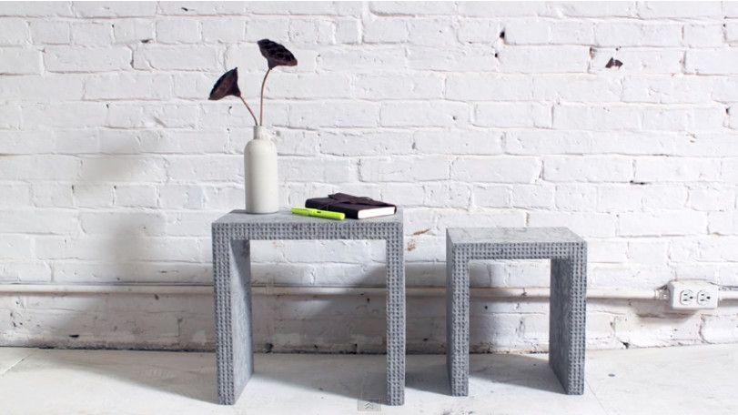 mit legosteinen tolle betonmöbel selber bauen - einfach die, Gartenarbeit ideen