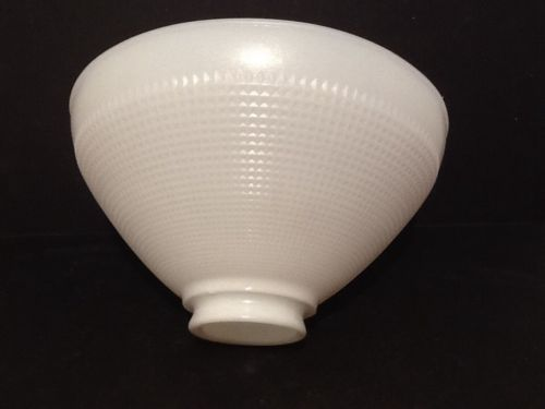 Antique Milk Glass Shade Diffuser For A Floor Lamp Light Globe