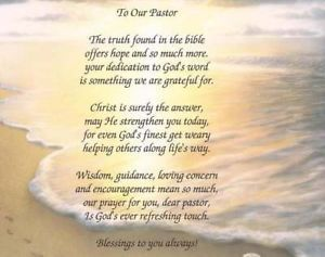 Pastor Appreciation Poems And Quotes 2