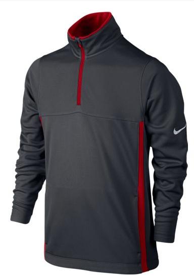 Jersey Nike Golf Boys Thermal para niños. Jersey Nike Golf para niños, con  cuello