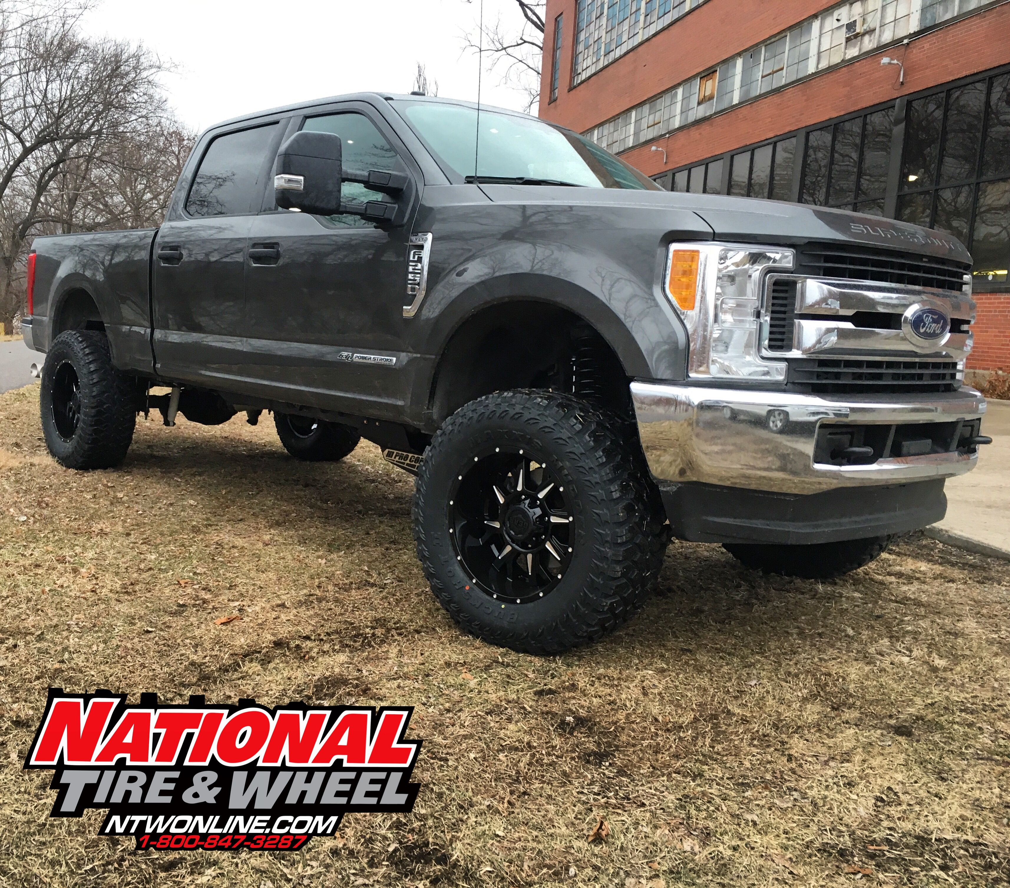Ntw Install This 2017 Ford F250 Received A 6in Pro Comp Suspension