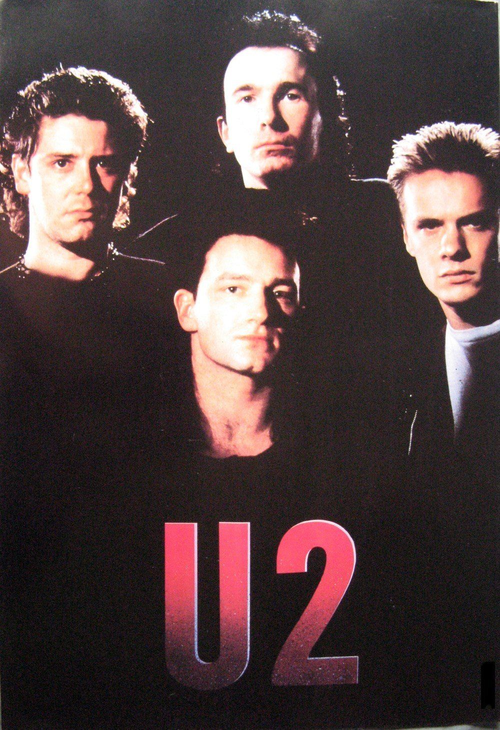 U2 poster as they looked in the 80s 14.5 x 21 Bono The ...