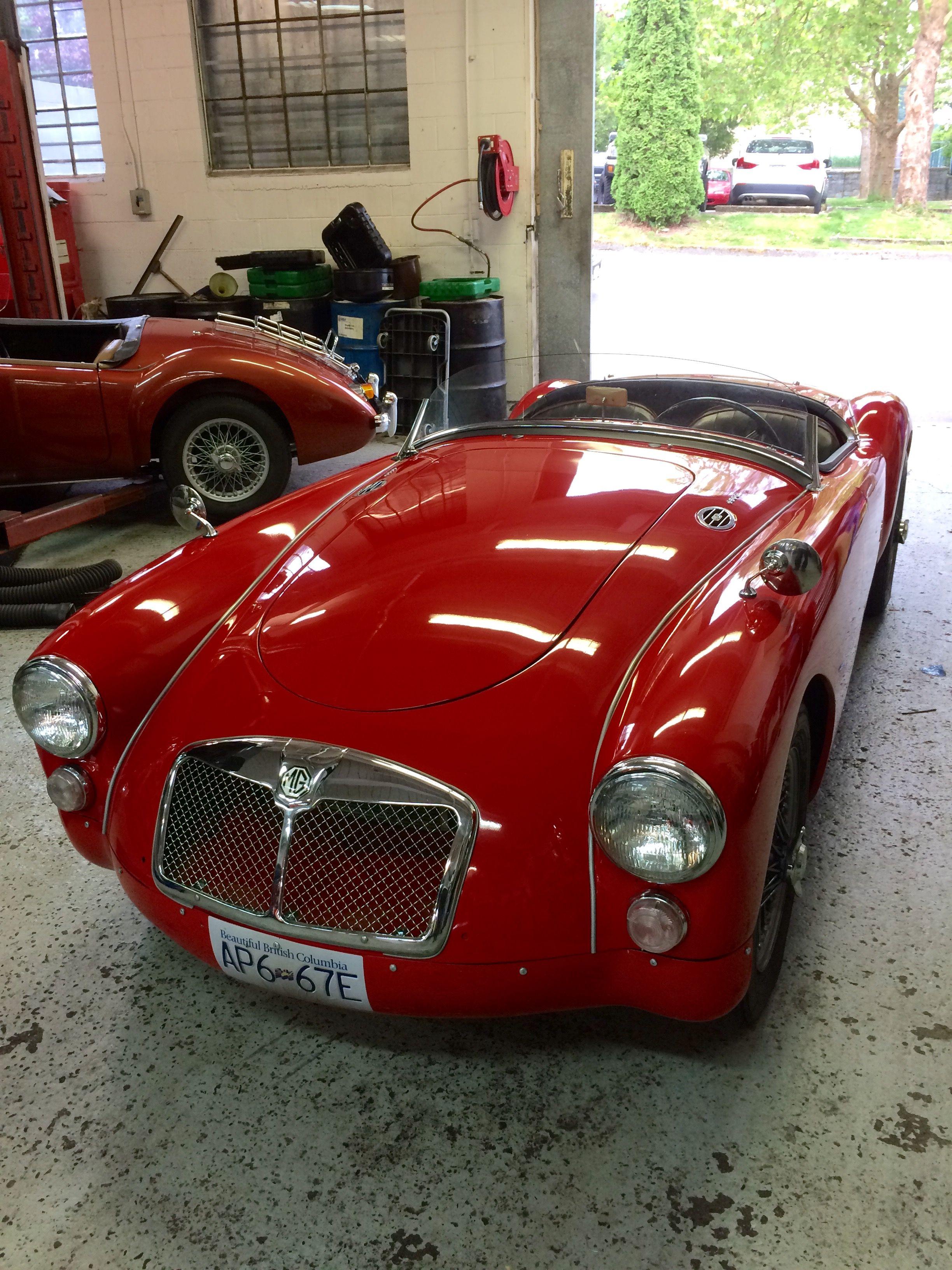 ecbda771595 Red MGA racing | Sports Cars | Vintage sports cars, Vintage cars, Cars