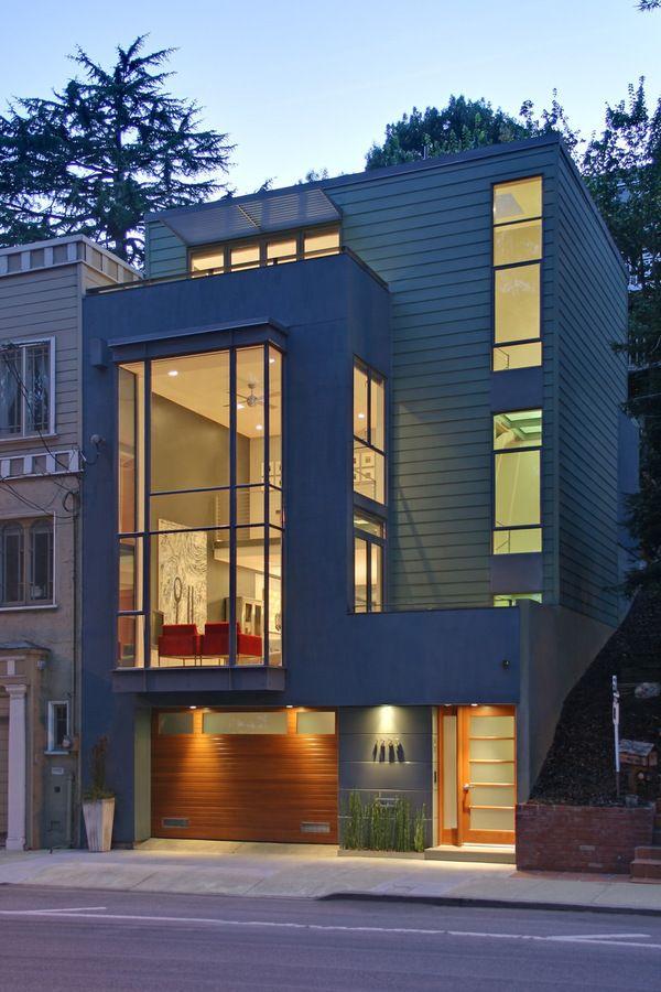 Modern Townhouse Townhouse Designs San Francisco: Row House Design, Townhouse Designs, San Francisco Houses