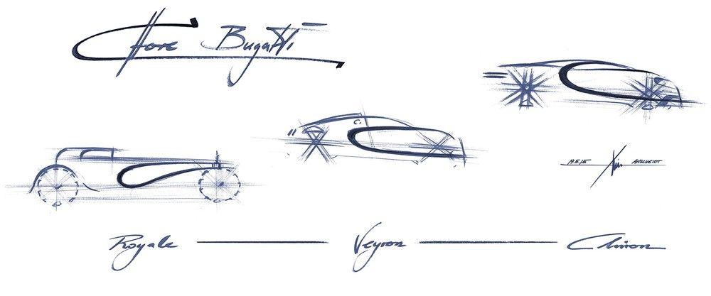 Bugatti Chiron antes de ser o Bugatti Chiron — Car Design HUE