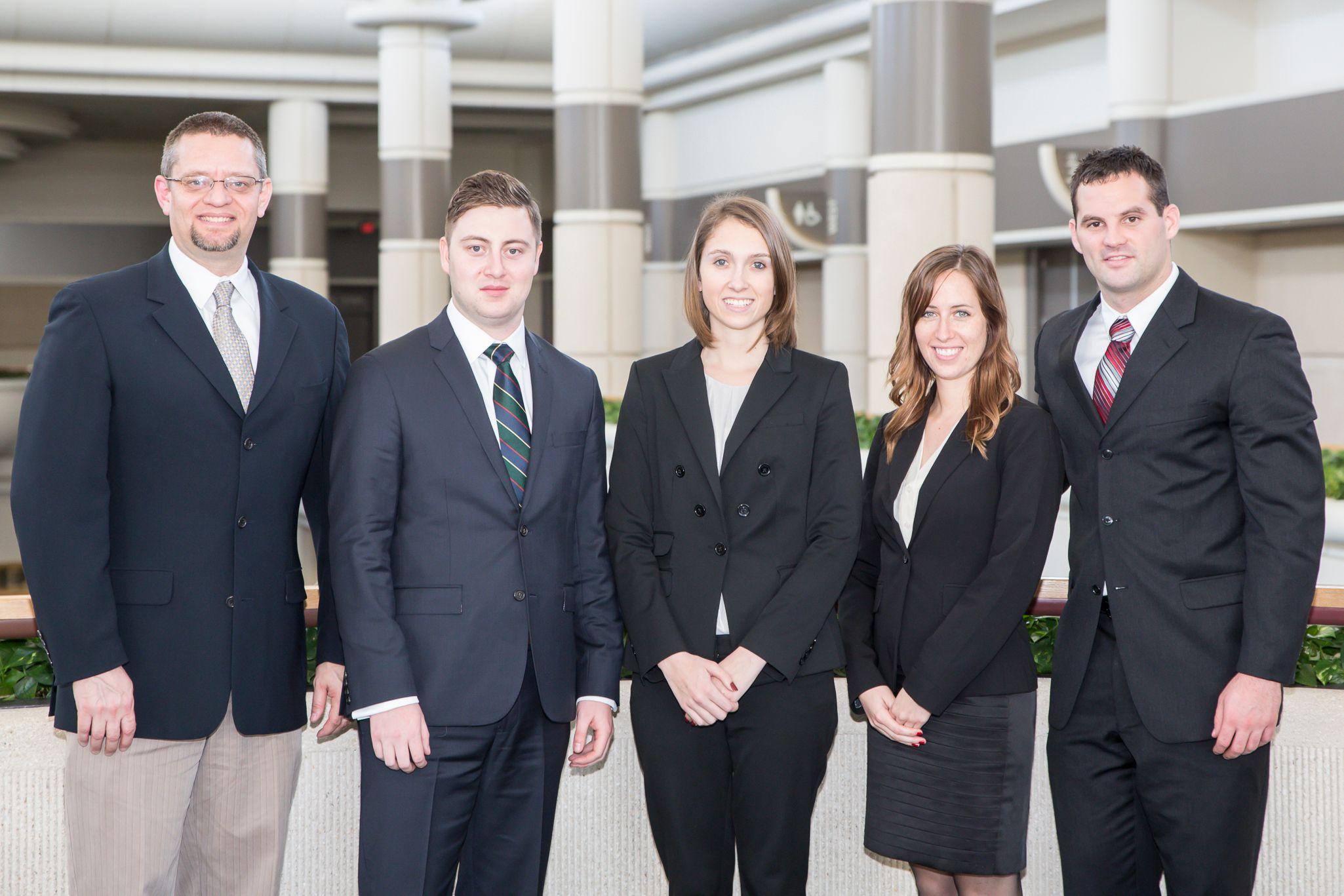 Temple University team and adviser: Robert Aubrey Kent, Simon Brandon-Lai, Britney Talty, Nicole Schafer & Gareth Jones