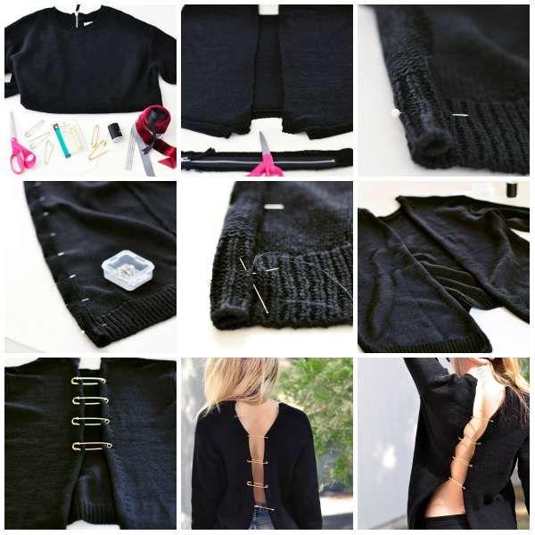 Belle 16 super idées pour transformer ses vieux vêtements   Vieux WD-38