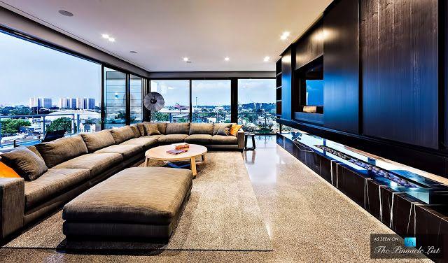Passion For Luxury : Cubo Penthouse U2013 59 Coppin Street,Melbourne, Victoria,  Australia. Penthouse WohnungInneneinrichtungWohnzimmerModerne ...