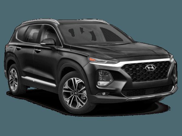 2019 Hyundai Santa Fe Black Hyundai Santa Fe Hyundai Hyundai Suv