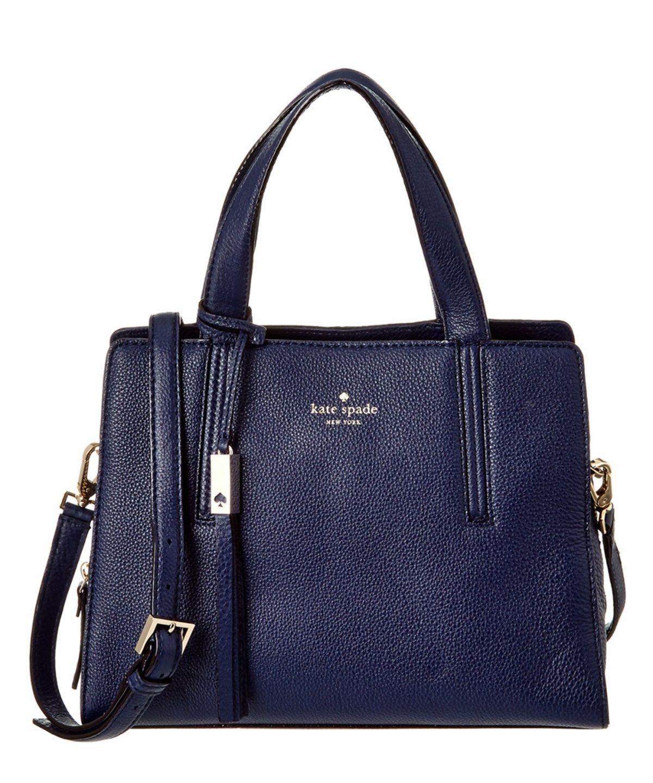 KATE SPADE Kate Spade New York Grey Street Dominique Leather Satchel'. #katespade #bags #shoulder bags #hand bags #leather #satchel #