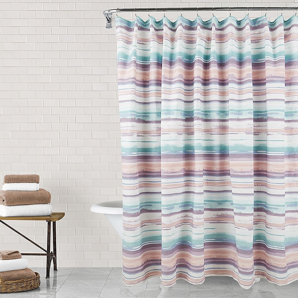 Josephine 72 X 84 Shower Curtain Multi In 2020 Curtains Bath