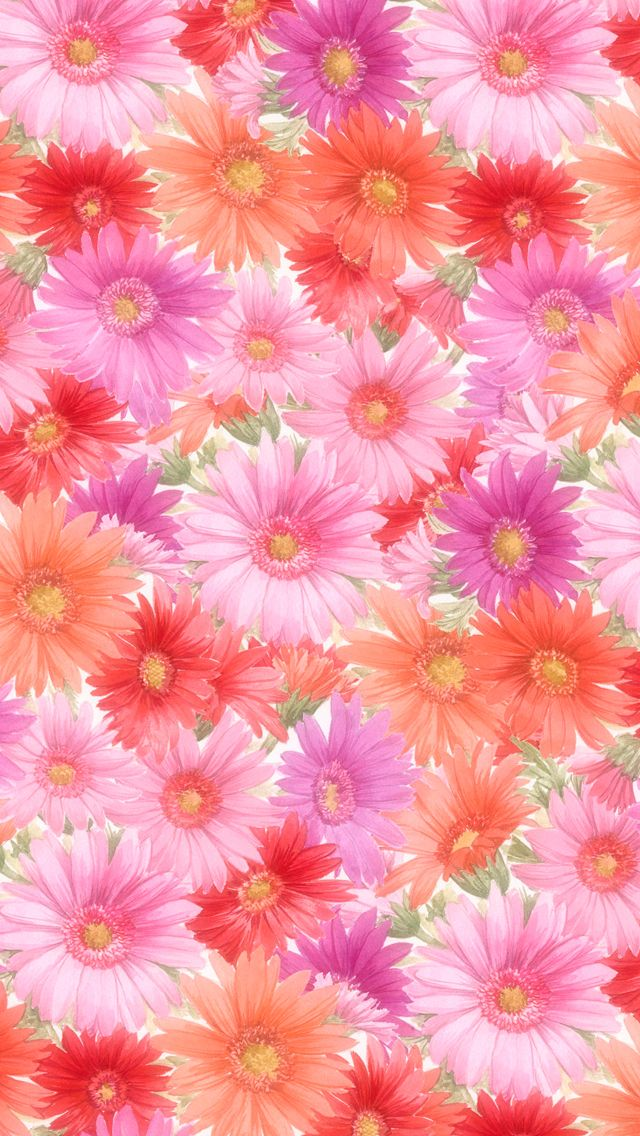 pretty purple flowers iphone wallpaper - photo #40