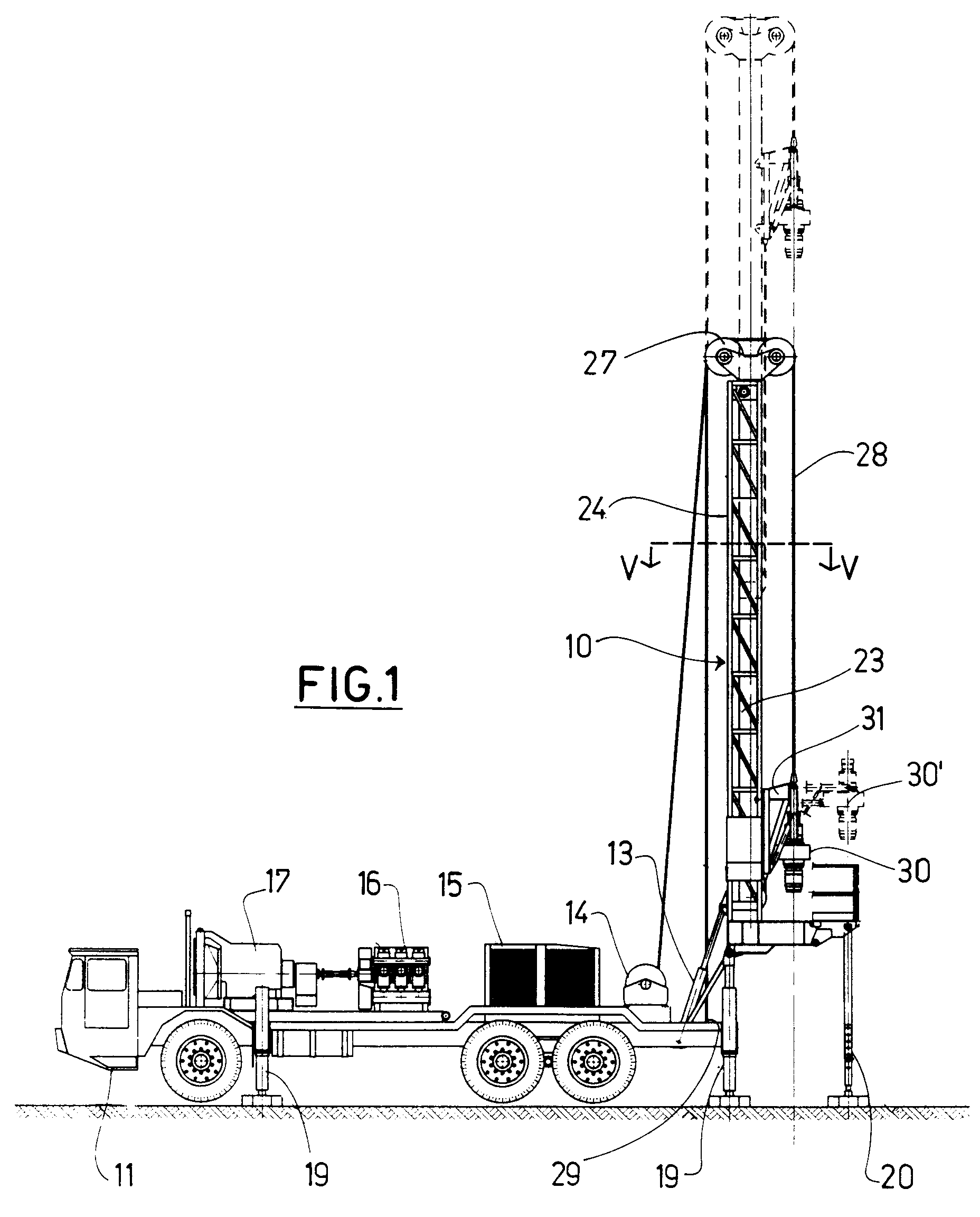 Image Result For Telescopic Drill Mast Patent