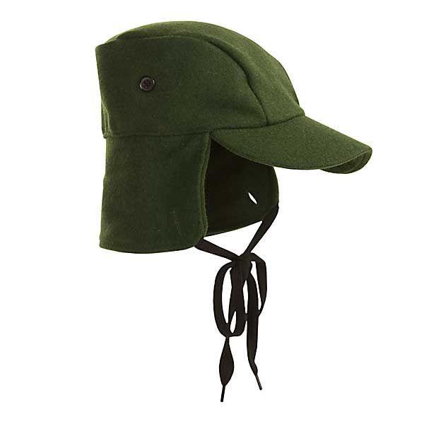a86c0e99d681a8 Swanndri Wool Hunting Cap (For Men) | sewing hats | Mens caps, Cap, Wool