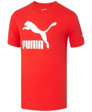 PUMA TSHIRT MÄNNER Brand Tee T Shirt Herren schwarz blau