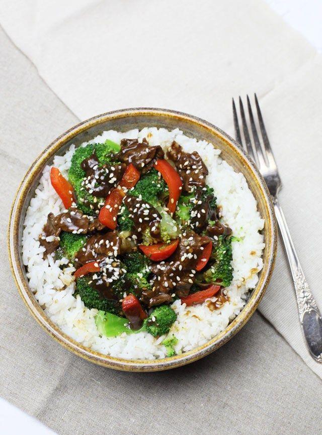 Beef, Broccoli & Peppers Stir Fry Recipe