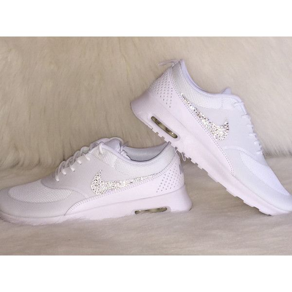 los angeles 99d9b 2663b ... shop new just in hot sale womens nike air max thea running shoes white  on white