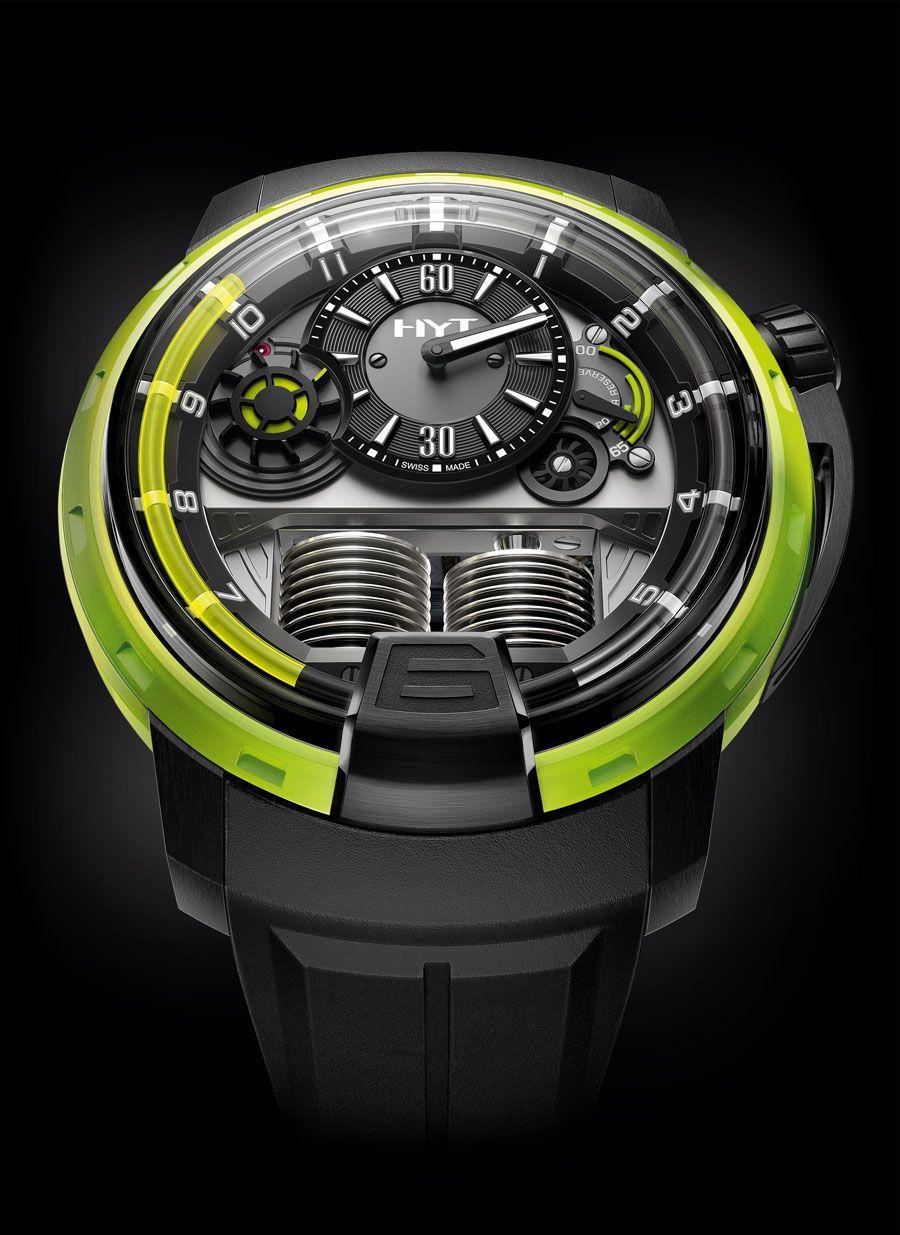 HYT Hydro-mechanical watch movement