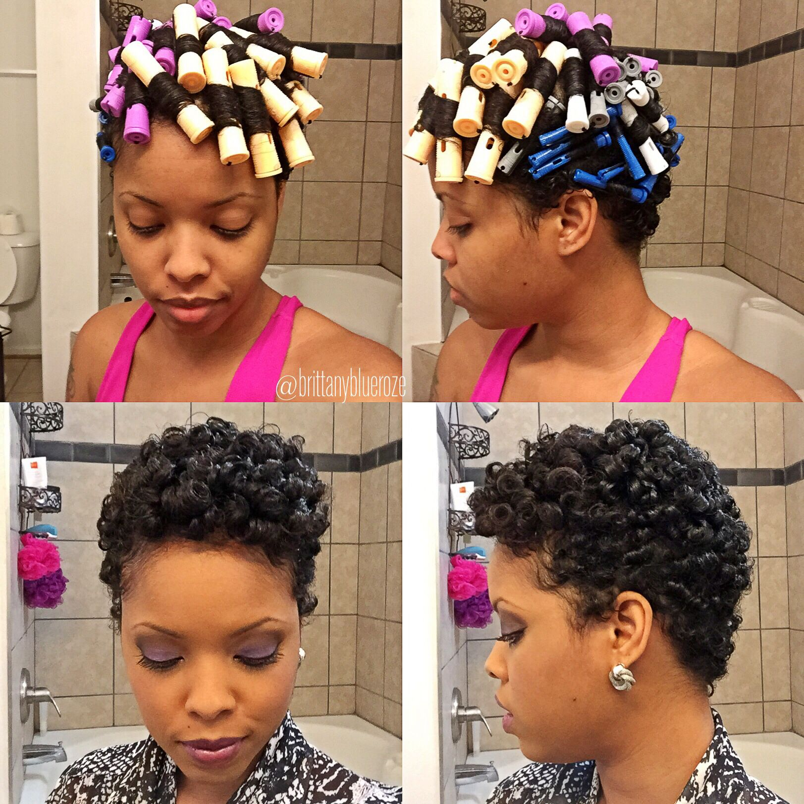 MY FIRST PERM ROD SET I Say It Was A Success. I Know What