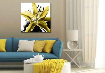 The Lily Collection Yellow Ochre